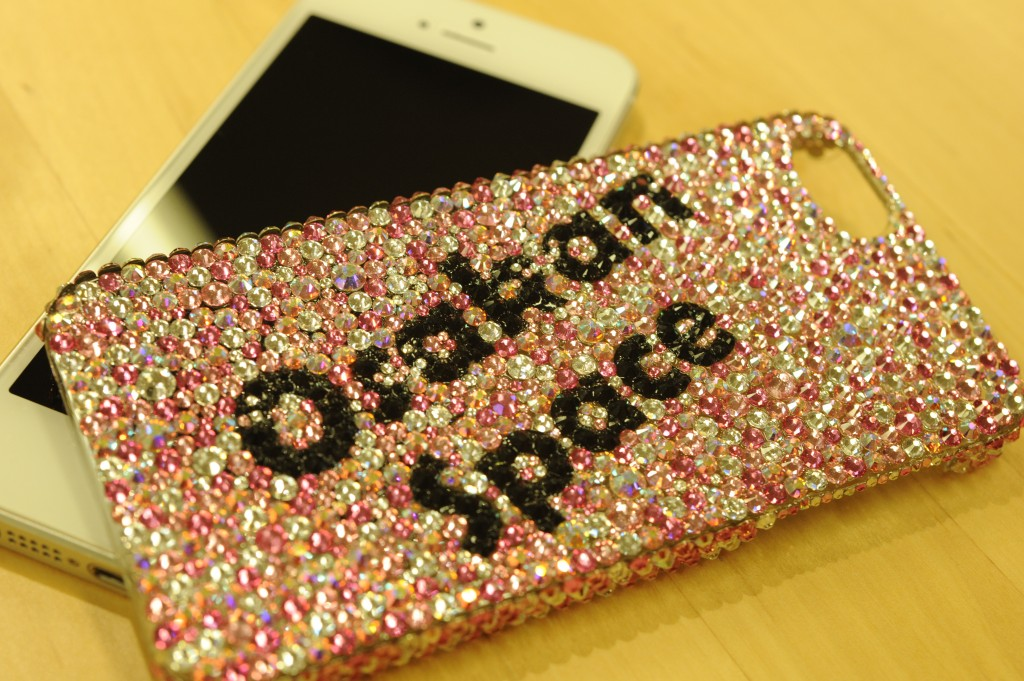 iPhone5のOsakan Space ケース